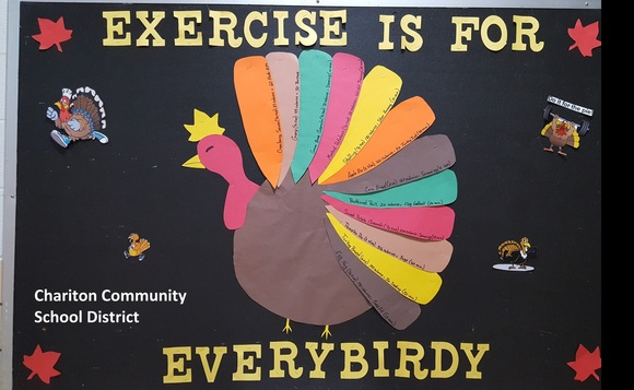 turkey bulletin board