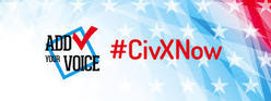 CivXNow Logo