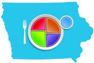Iowa MyPlate Logo