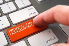 Professional Development written on computer key