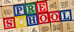 Blocks spelling preschool