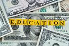 Cash with word EDUCATION written across it.