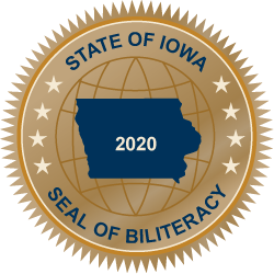 Graphic of Seal of Biliteracy 2020