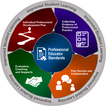 Professional Educator Standards graphic