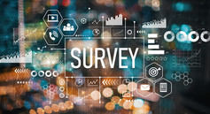Graphic that says Survey