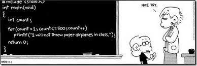 Computer science Comic strip