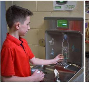 water bottle filling stations