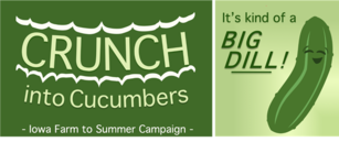 Crunch into Cucumbers logo