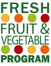 Fresh Fruits and Vegetable log graphic
