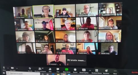 HPE Zoom meeting