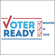 Voter Ready logo from the Secretary of State