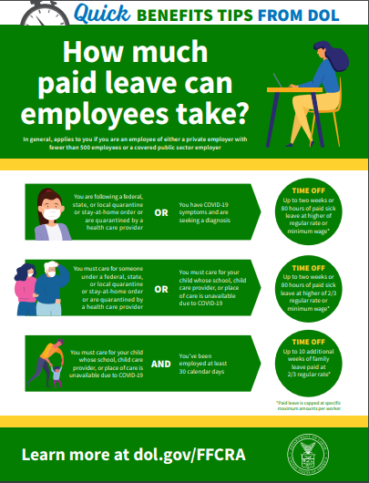 Paid leave due to COVID-19