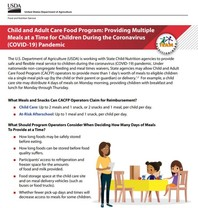 CACFP Multiple Meals