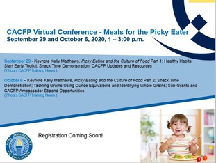 CACFP Virtual Conference