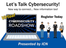 ICN Cybersecurity Virtual Roadshow 2020 graphic