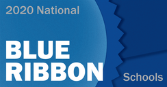 National Blue Ribbon Schools graphic