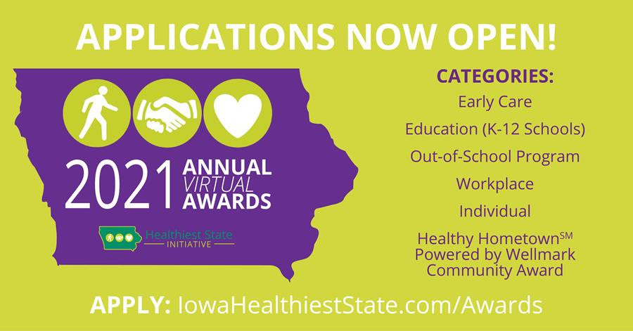 Healthiest state awards