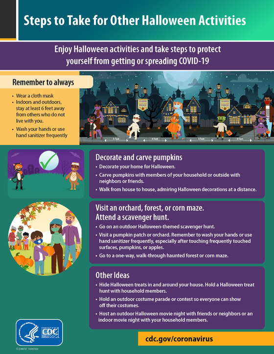 CDC Halloween Activities