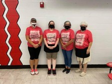 School nutrition staff at Riceville CSD