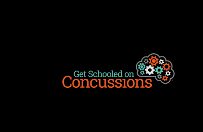 Get schooled on concussions graphic