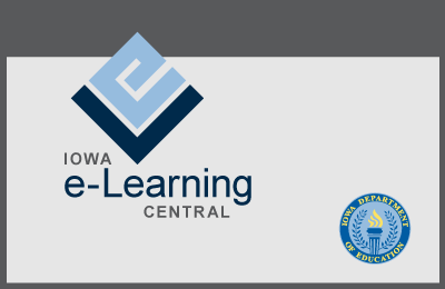 Iowa E-learning Central logo