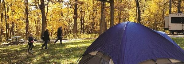 camping at Pikes Peak State Park