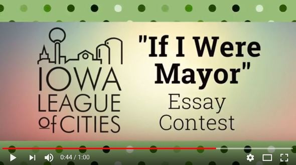 "An image promoting a video about the ""If I Were Mayor ..."" contest"