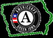Green Iowa AmeriCorps Logo
