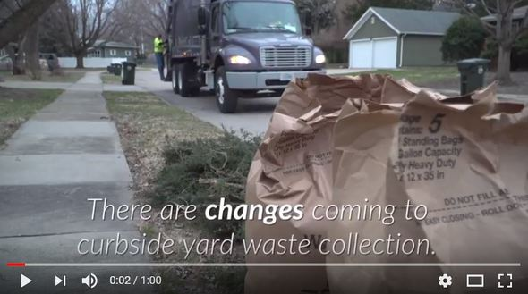 A YouTube thumbnail of a video explaining curbside changing coming in 2018.