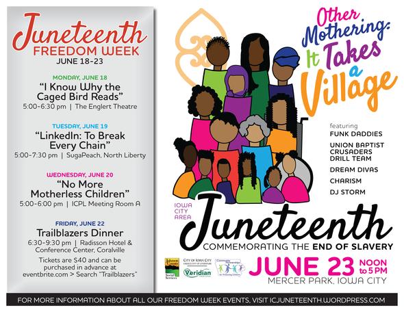 Iowa City Juneteenth Celebration