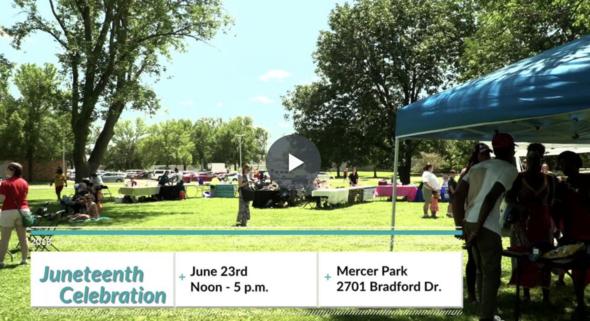 Iowa City Juneteenth promotional video