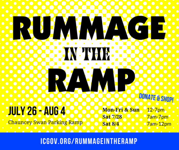 Rummage in the Ramp graphic