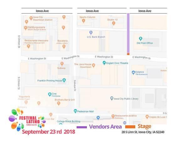 Latino Festival Map