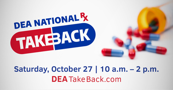 DEA National Drug Takeback Oct. 27