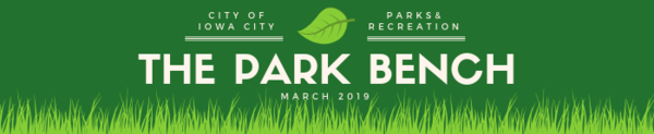 March Park Bench Newsletter