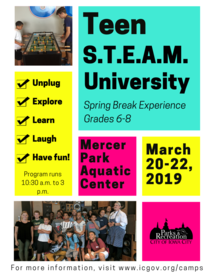 Teen Spring Break Camp
