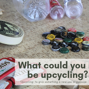 Upcycling convention graphic