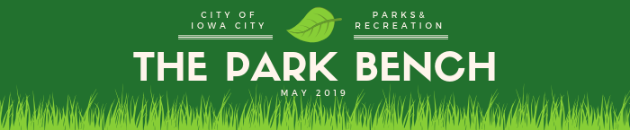 May Park Bench newsletter heading