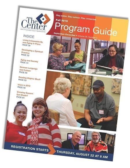 Senior Center program guide 2019