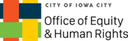 The logo for the City's Office of Equity and Human Rights.
