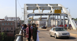 An image of the Edmund Pettus Bridge.