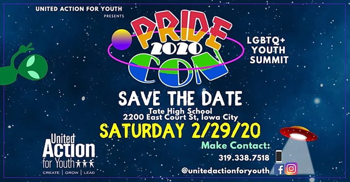 The logo for PrideCon