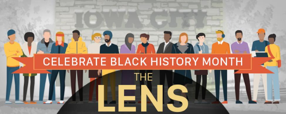 The banner image for The Lens newsletter.
