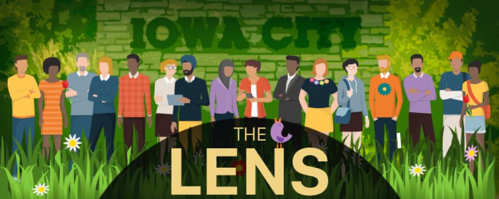 The Lens header.