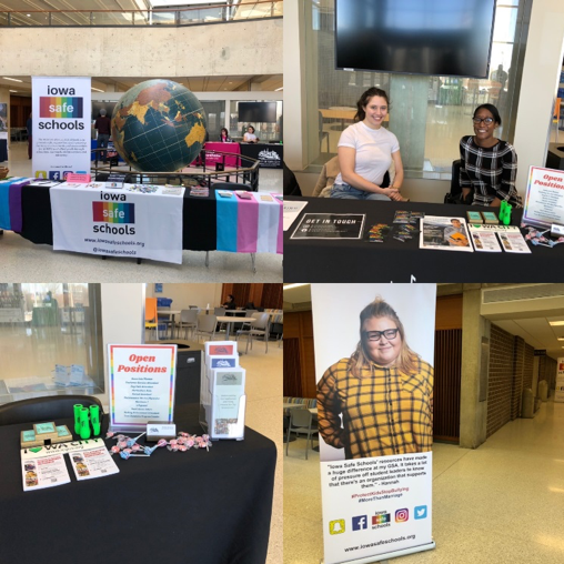 Images from the LGBTQ Career Expo are shown.