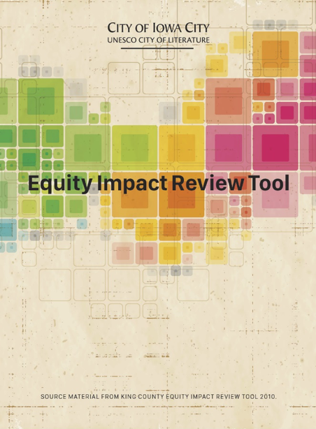 The cover of an Equity Toolkit.