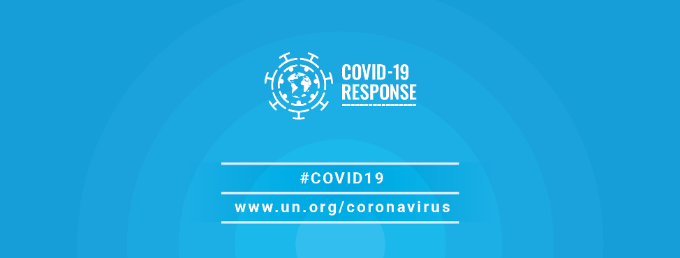 A graphic from the United Nations sharing information about COVID-19.