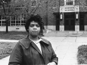 Civil Rights icon Linda Brown Smith is shown.