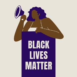 Black Lives Matter graphic.
