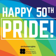 Iowa City Pride logo.